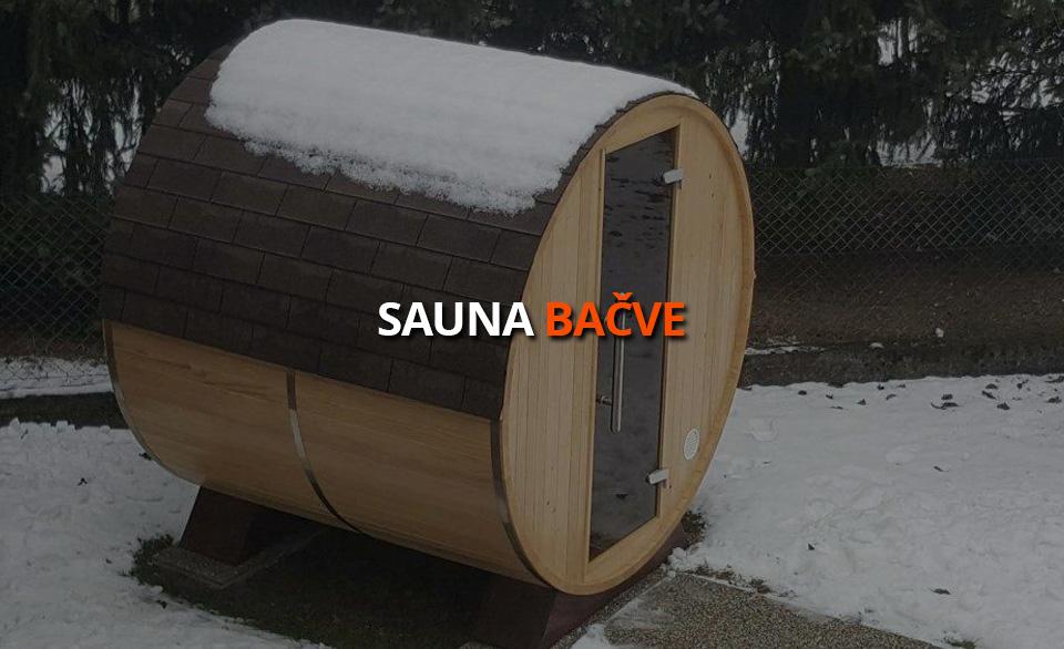 Sauna Bačva